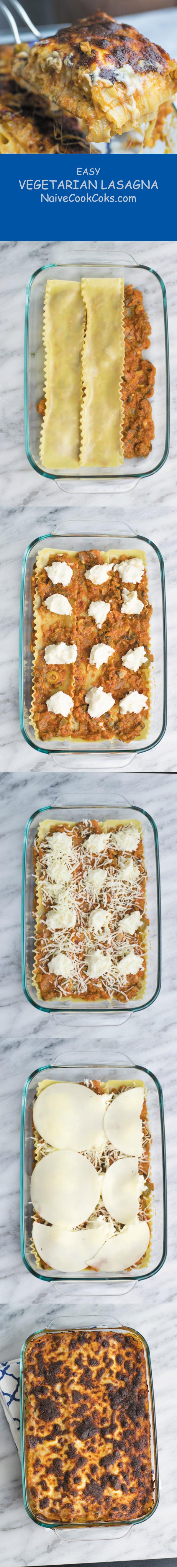 easy vegetarian lasagna long pin 1