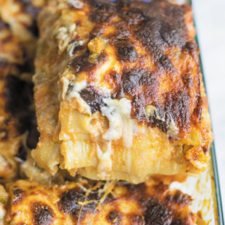 easy vegetarian lasagna ready to eat