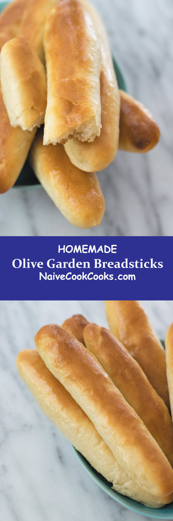 homemade olive garden breadsticks long pin