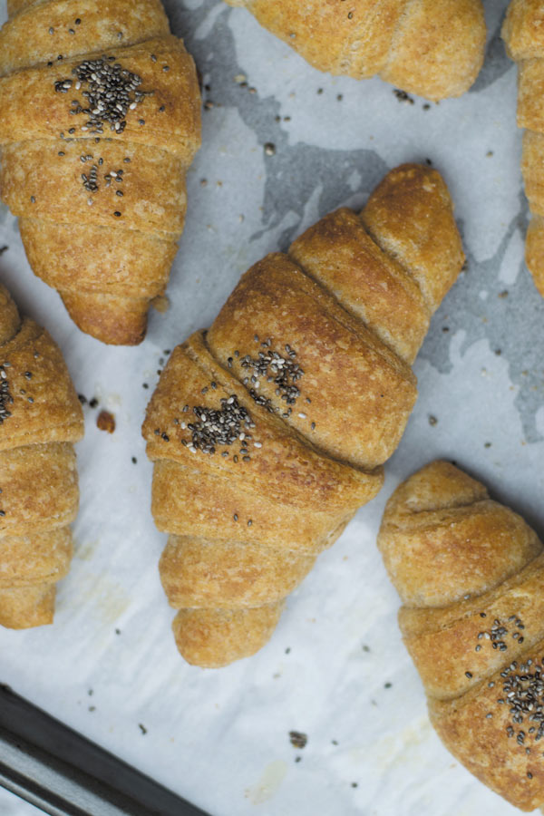 how to make whole wheat croissant