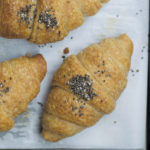whole wheat croissant step by step title