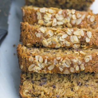 Eggless WholeWheat Oats Date Cake
