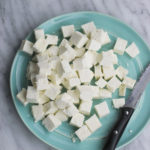 how to make paneer - just 2 ingredients & 30 mins is all you need to make paneer at home! So many delicious ways to eat this cheese & it's way cheaper to make at home! Store in freezer for upto 4 months & use whenever needed!