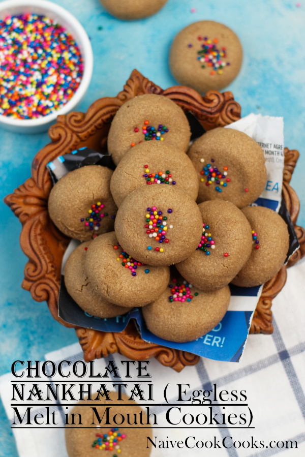 chocolate nankhatai melt in mouthTITLE