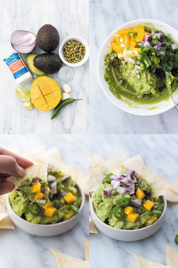 tequila-mango-&-goat-cheese-guacamole-bowl-preparation