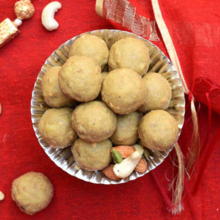 Atta Ladoo – Whole Wheat Flour Ladoo Recipe