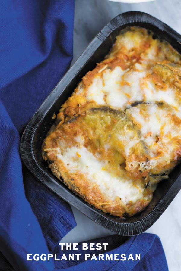 The Best Eggplant Parmesan : The best easiest Italian Meal found in ...