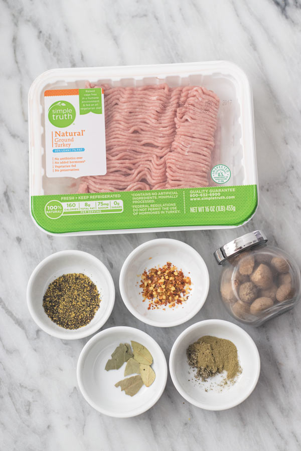 homemade turkey sausages - One bowl, 30 Minutes and just few ingredients to make these fresh at home sausages! Better than the ones at your favorite diner!