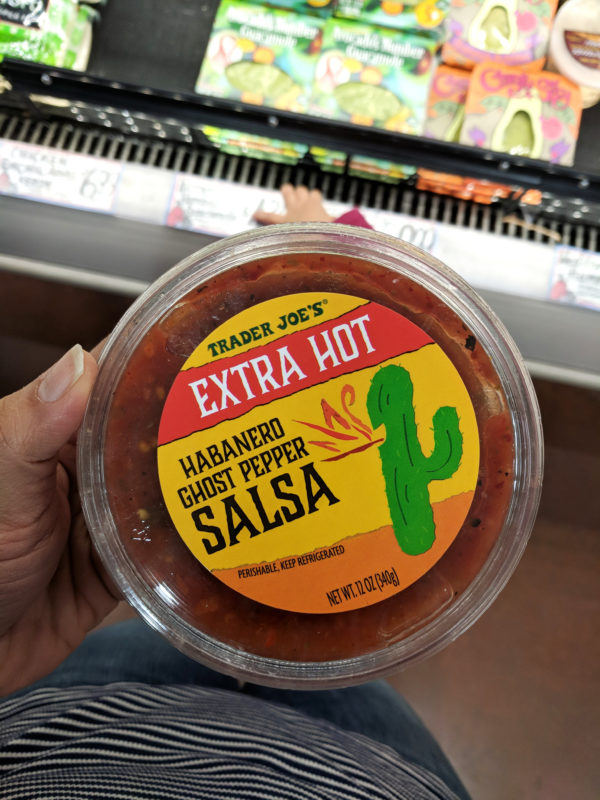 my favorite trader joes products ghost pepper salsa