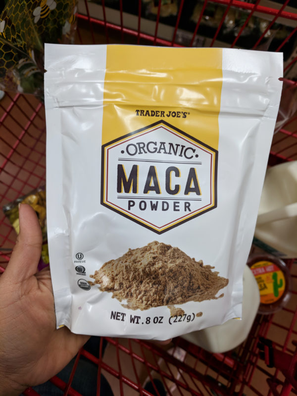 my favorite trader joes products maca powder