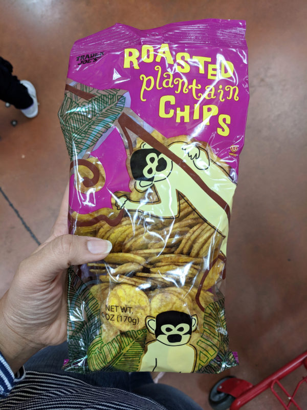 my favorite trader joes products plantain chips