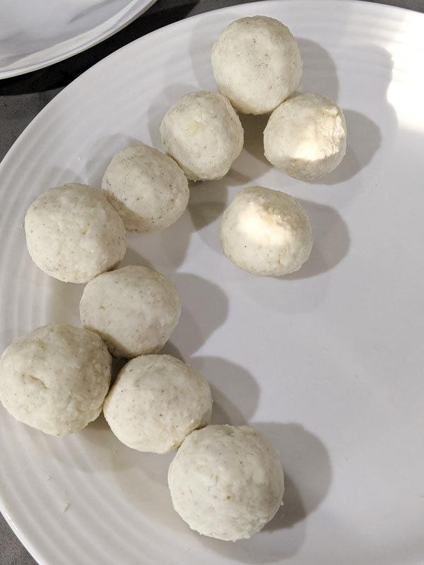 malai kofta balls