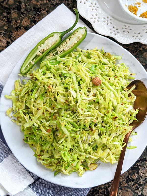 Cabbage & Peanut Stir Fry