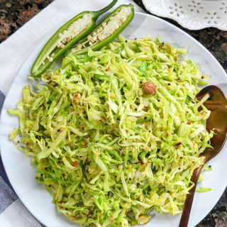Cabbage & Peanut Stir Fry title