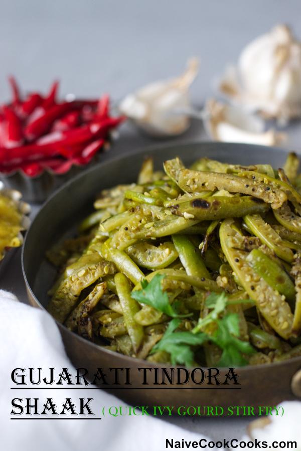 gujarati tindora shaak ready to eatTITLE