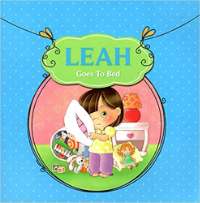 leah goes to bed