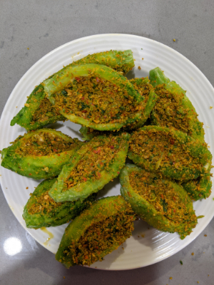 stuffed bitter gourd stuffed karela masala stuffed inside