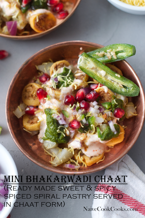 mini bhakarwadi chaat ready to eattitle