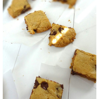 Delicious Brown Butter Blondie Cookies