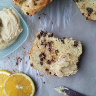 Chocolate Chip Orange Bread with Orange Butter