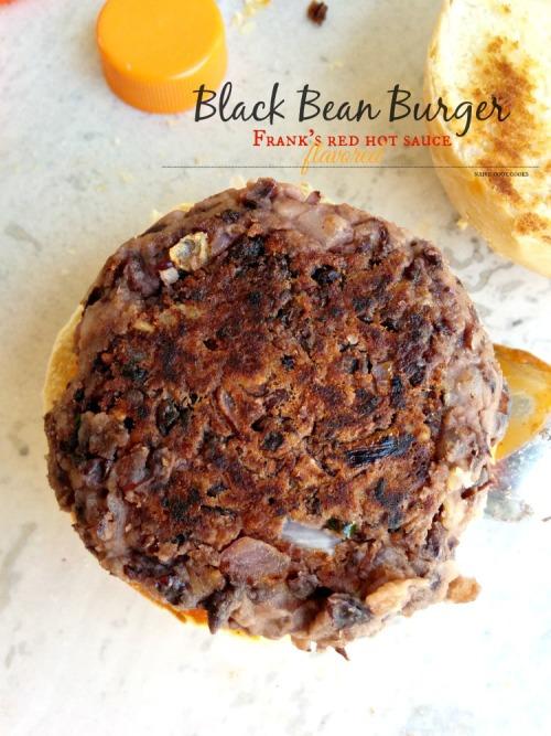 SpicyBlack Bean Burgers - Veggie Burger Patty