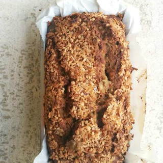 5 Banana Coconut Banana Bread