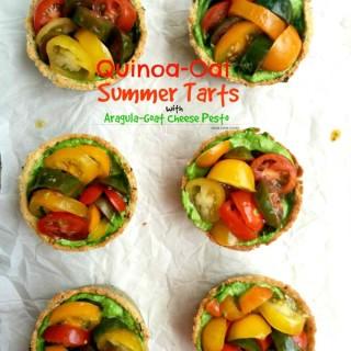 Quinoa Heirloom Tomato Tart