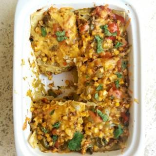 Green Mexican Lasagna