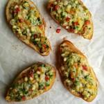 Loaded Veggie Toasts