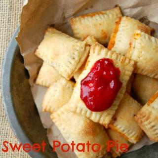 Sweet Potato Pie Mini Pop Tarts