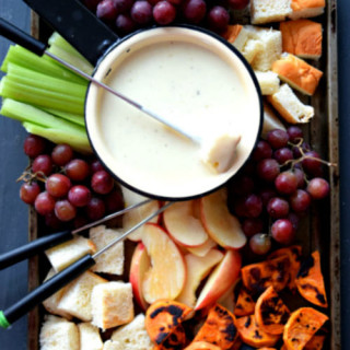 3 Cheese Truffle Oil Fondue