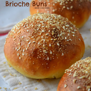 Everything Brioche Burger Buns