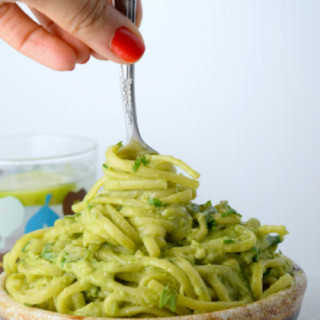 Spicy Avocado Sauce Pasta