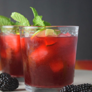 Blackberry Mint Limeade
