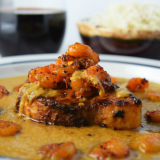 Swordfish and Shrimp Carib-Curry