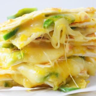 Cheesy Mango Quesadillas
