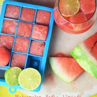Watermelon Vodka Limeade