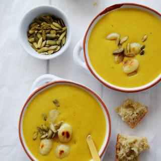 Lazy Pumpkin Gnocchi Soup