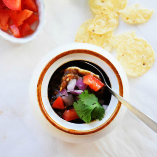 Slow Cooker Pumpkin Nacho Chili