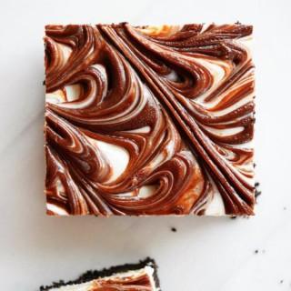 No Bake Oreo Nutella Bars