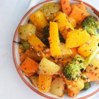 Seasoned Roasted Vegetables