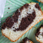 easy moist chocolate marble cake ready