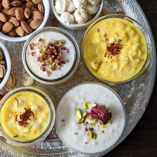 Foxnut (makhane) & cardamom rice pudding ready for eating1 title